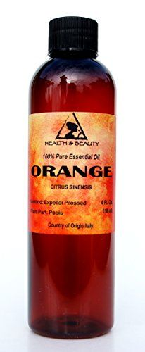 Orange Essential Oil Organic Aromatherapy Therapeutic Grade 100 Pure Natural 4 oz ** Check out this great product. Note:It is Affiliate Link to Amazon.