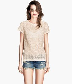 Love this: Lace Top @Lyst