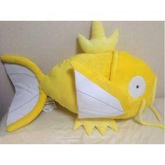 Pokemon Center Nagoya 2013 Shiny Gold Magikarp Giant Lifesize Plush Toy Cushion