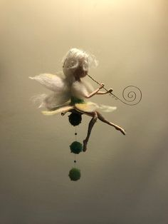Needle felted Fairy Waldorf inspired Felted fairy Music Fairy flute White fairy Flower fairy Art doll Gift Fairy with flute White Fairy Music, Fairy Art, Wet Felting, Needle Felting, Mery Crismas, Ornament Pattern, Felt Fairy, Felt Ball, Flower Fairies