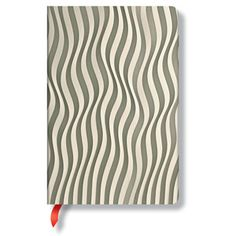 Ori Ripple Lined Journal, $12, now featured on Fab.,reg. $14.95,from paperblanks