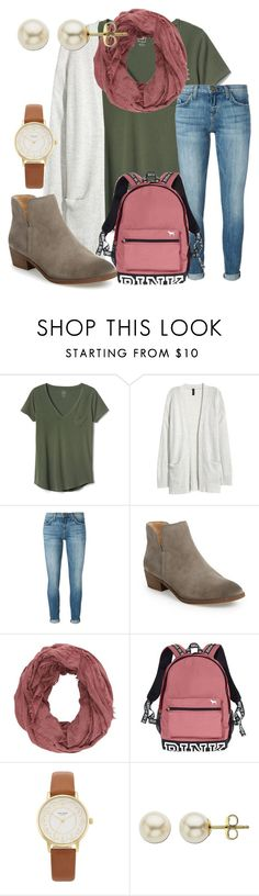 """""""Friday!!!!!"""" by ctrygrl1999 ❤ liked on Polyvore featuring Gap, Current/Elliott, Splendid, Charlotte Russe, Victoria's Secret, Kate Spade and Lord & Taylor"""