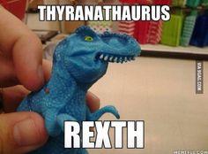 Hahaha Dinophaur pheven.