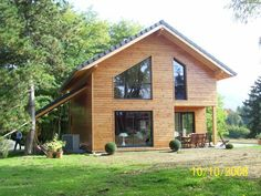 Maison Bois Greenlife. Plan Du Chalet Bois Kit Pictures To Pin On ...