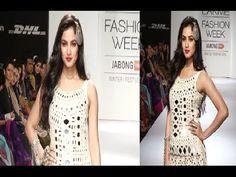 Sonal Chauhan's stunning ramp walk at Lakme Fashion Week 2014.