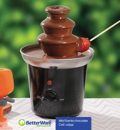 Mini fuente chocolate Cod. 12594 www.betterware.com.mx 01800 2(better) 238837