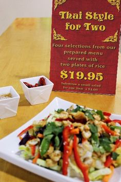 Looking for Thai Food in Calgary? Try Jackie's Thai at Eau Claire Market Great Recipes, Favorite Recipes, Best Thai, Frozen Meals, Thai Style, Thai Recipes, Calgary, Catering, Menu