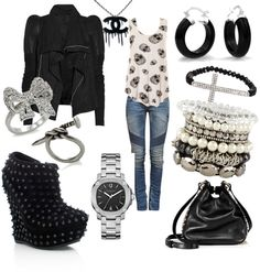 """""""Rocker girl"""" by susan-colaire on Polyvore"""