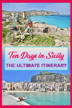 The Ultimate 10 day Sicily Itinerary - The Globetrotter GP Sicily Travel, Italy Travel Tips, Travel Destinations, Naples, Sicily Hotels, Sicily Italy, Verona Italy, Puglia Italy, Venice Italy
