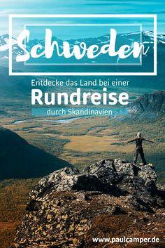 Hungrig auf ein wildes und freies Land wie Schweden? Plane jetzt deine Skandinavien Rundreise mit dem digitalen Reiseführer von PaulCamper. Einfach Camper mieten und losfahren in die Schönheiten Norwegens und Schwedens!