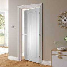 Ely White Primed Door #suistanabledoor #internaldoor #bargaindoor
