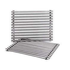 fc0b795eed5 Weber 7521 Cooking Grate x x The Weber cooking grate is made of stainless  steel and fits the Genesis Silver A and Spirit 500 gas grills.