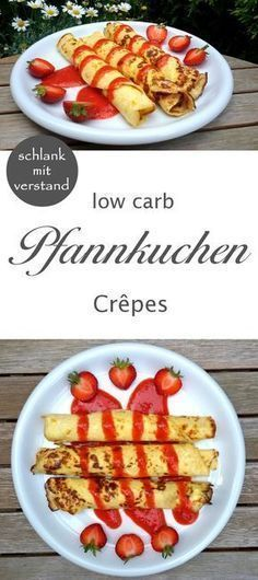 low carb Pfannkuchen Crepes #Rezept #recipe #abnehmen #lowcarb #glutenfree #glutenfrei #food #follow