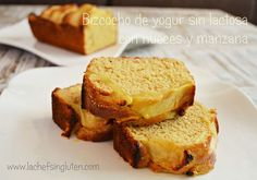 Bizcocho (Budín) de Yogur con Nueces y Manzana | Modo Gluten Free