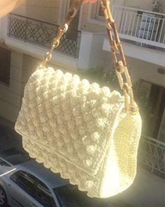 Crochet Women's Hand Bag Shoulder Bag Macrame Yarn Ivoire... https://www.amazon.com/dp/B076FZZ2MC/ref=cm_sw_r_pi_dp_x_syH4zb0TR5BEY
