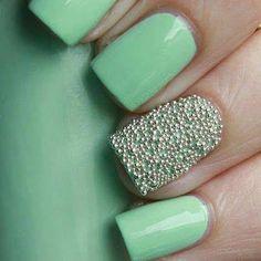 Paso a Paso - Uñas Efecto Caviar #decoracion_uñas #diseño_uñas #uñas_decoradas #nails #nail_art #nail_art_designs