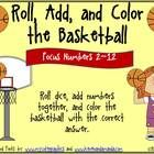 This fun basketball theme math activity focuses on adding numbers on dice (2 die). Addition answers will range from 2 to 12. I have included a vari...