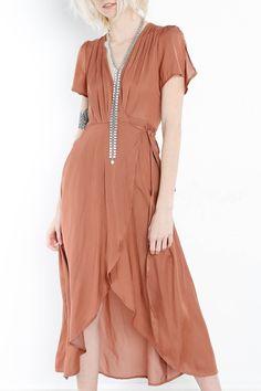 """Myrtis Gray """"Reynolds"""" Maxi Dress - Libby Story"""