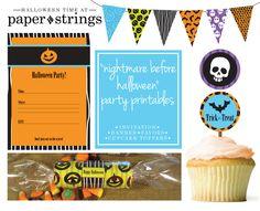 Free Halloween Party Printables