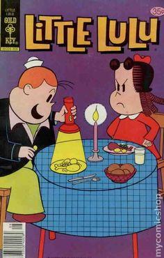 Cover for Little Lulu (Western, 1972 series) [Gold Key] Vintage Comic Books, Vintage Comics, Newspaper Cartoons, Children's Comics, Romance, Magazines For Kids, Classic Comics, Comic Book Covers, Archie