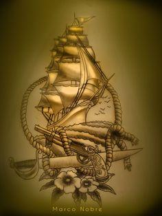 Love Boat Tattoos http://pinterest.com/treypeezy http://twitter.com/TreyPeezy http://instagram.com/OceanviewBLVD http://OceanviewBLVD.com