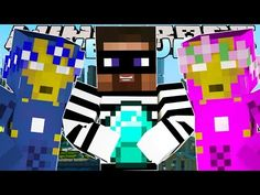 Minecraft - Little Carly Adventures: CATCHING THE JEWEL THIEF w/ THE MINEVENGERS & LITTLE KELLY! - YouTube