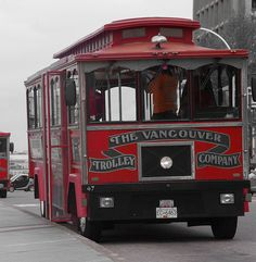 The Vancouver Trolley Company Share, Like, Repin! Also find us at instagram.com/mightytravels