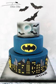 #DolceDita #CakeDesign #batman #cake #gâteau