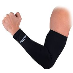 COOLOMG Single(1 Piece) Youth Men Women Non Slip Compression Long Sleeve Arm Protector Arm Warmers Basketball Volleyball Cycling Black M