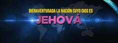 """""""Bienaventurada la nación cuyo Dios es Jehová"""" - Salmos 33:12a (Reina-Valera 1960). Portadas para Facebook - Facebook covers"""
