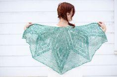 boreal chal patrón de crochet PDF
