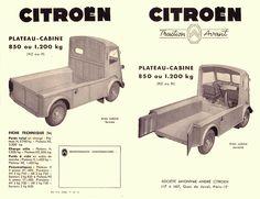 Citroën type hy Pick-Up Citroen Van, Citroen Type H, Catering Van, Traction Avant, French Classic, Car Pictures, Car Pics, All Cars, Car Car