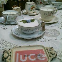 #Teacupcandles,#vintageteacup, #soycandlesandgifts, #soycandlesforsale, #lalucecandles, #lalucecandleshop