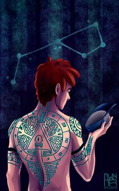 Dipper with Tattoo by AwyrGreen.deviantart.com on @DeviantArt