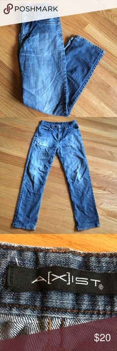 d991e91697f SALE 🌼 Armani Exchange distressed jeans Men s Armani exchange jeans 30x32  light wash with distressed look