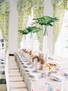 One couples flower filled destination wedding in johannesburg dorothy draper inspired bridal tea at the greenbrier resort junglespirit Gallery