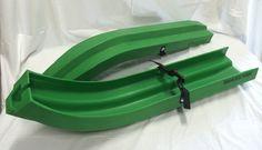 Green Ski-Boot