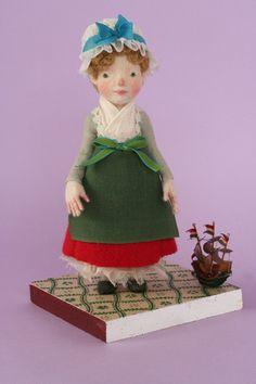 Yoomoo adorable  felt doll