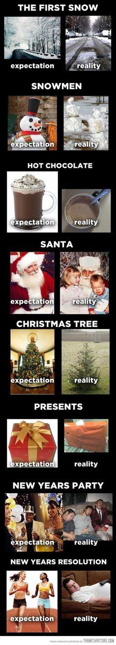 nice Expectations vs. Realities