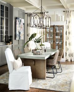 8 Reasons We Love Decorating With Black And White Dining Room Accents Bronze Metal Ballard Designs