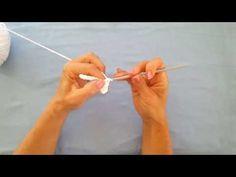 Lär dig att virka luftmaskor och fasta maskor - YouTube