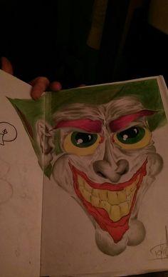 The joker Joker, My Arts, Painting, Fictional Characters, Painting Art, Paintings, Paint, Draw, The Joker