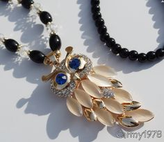 necklace with owl