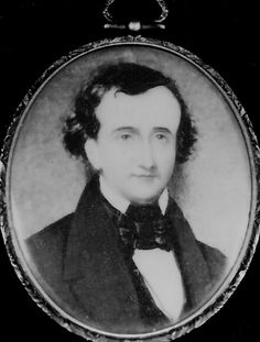 A rare portrait of a young Edgar Allan Poe.