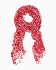 Valentine Confetti Scarf | UPC: 410007290494 COTM Fuchsia, Pink, Rose, Hot Pink, Roseberry, Valentines