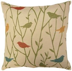 Dakotah Knife Edge Birdwell Lane Pillow 17 by 17Inch Mojito Set of 2 * You can find out more details at the link of the image.