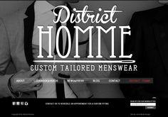 A great web design by Great Minds Design, Los Angeles, CA: Website, Marketing Website , Fashion , Wordpress