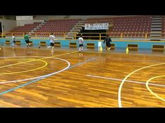 Handball: Entrenamiento de resistencia, intermitente mixto. - YouTube