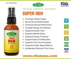 #HOMEOPATHIC #MULTIPOTENCY SUPER #HGH -> Promotes Positive #Aging -> Burns Fat And Build #Muscle -> Increase #Energy And #Stamina