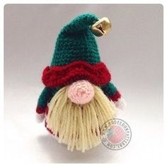Elf Gonk crochet pattern A Gonk's Journey